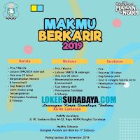 Info Lowongan Kerja di MakMu Surabaya Terbaru Nopember 2019