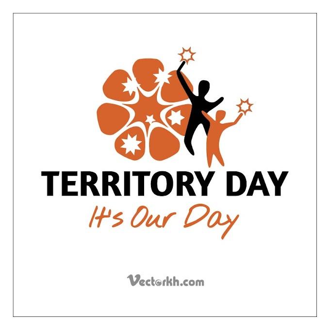 territory day logo free vector