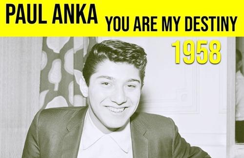 You Are My Destiny | Paul Anka Lyrics