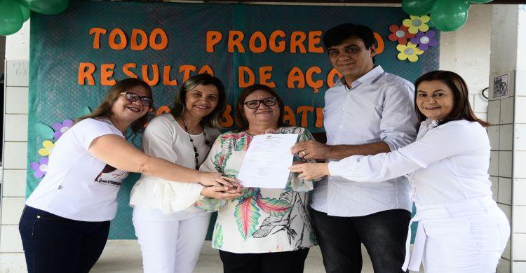 Caucaia  Escola com 40 anos tem primeira reforma autorizada 8d56684f0df88