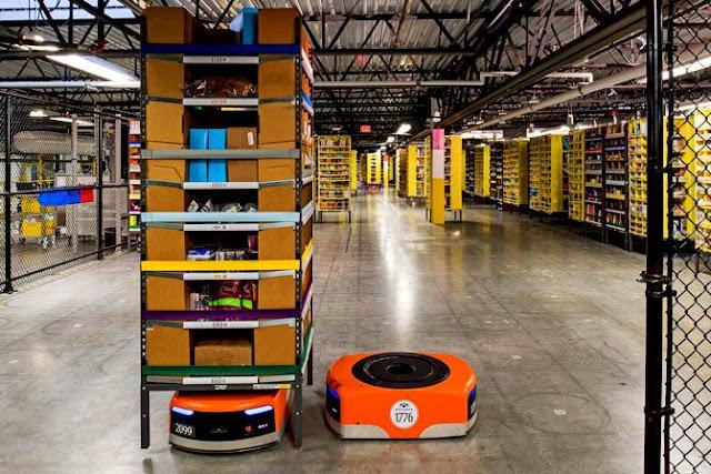 Автоматизированные fba склады Амазон
