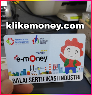 Cetak Emoney Custom