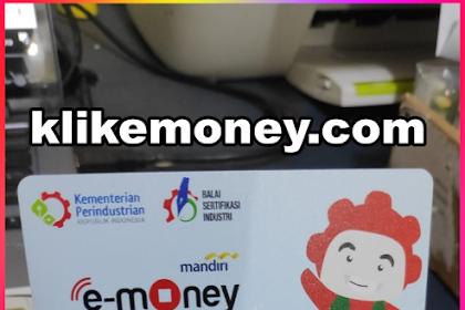 Tips Cara Cetak Emoney Custom