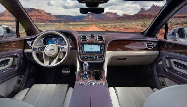 2017 bentley bentayga price - interior - new 2017 suv models