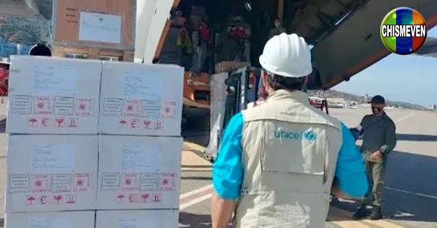 Juan Guaidó anuncia la llegada de un avión con 32 toneladas de suministros médicos