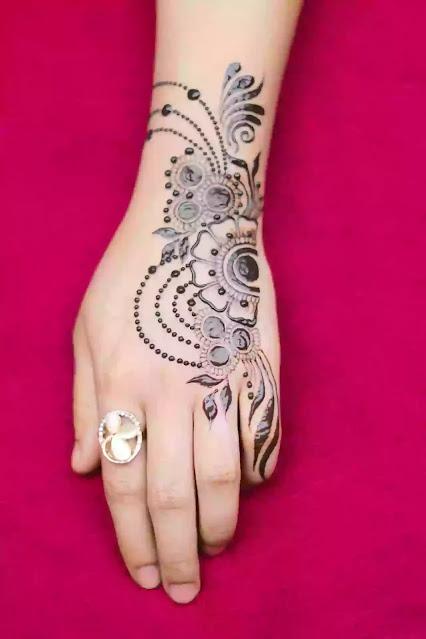 Ring Jwellery simple mehndi design
