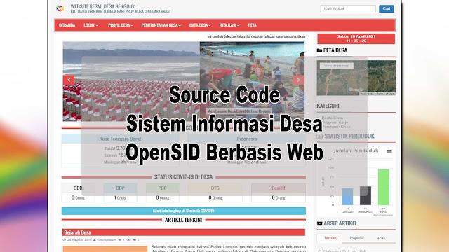 Download Source Code Sistem Informasi Desa OpenSID Berbasis Web Gratis