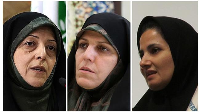 Iranian President Hassan Rouhani names 3 women as vice presidents, assistant