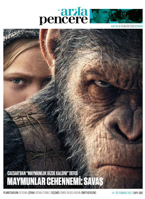 Arka Pencere 368. Sayı (14 – 20 Temmuz) - War for the Planet of the Apes