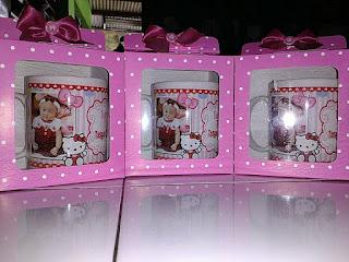 Souvenir Aqiqah Mug kemas Soft Box