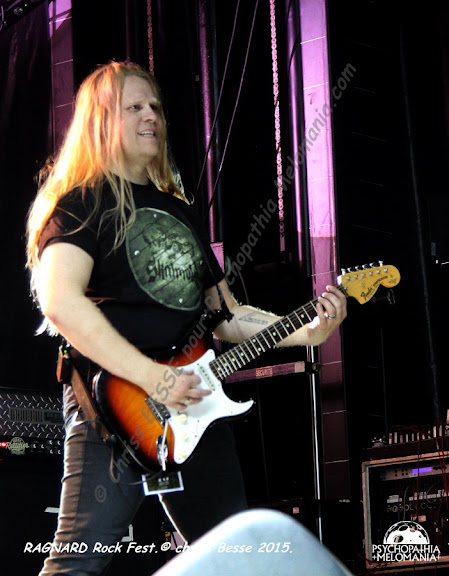 Skálmöld @Ragnard Rock Fest 2015, Simandre-sur-Suran 18/07/2015
