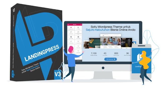 Bikin Website Profesional Branding Bisnis Dengan Landingpress