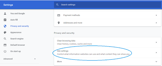 Cara menghilangkan iklan di google chrome dengan menonaktifkan JavaScript di PC dan Android