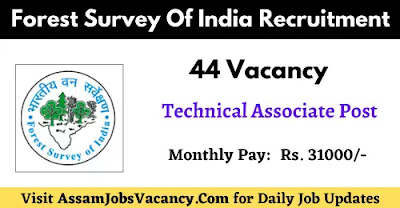 Forest Survey Of India Recruitment