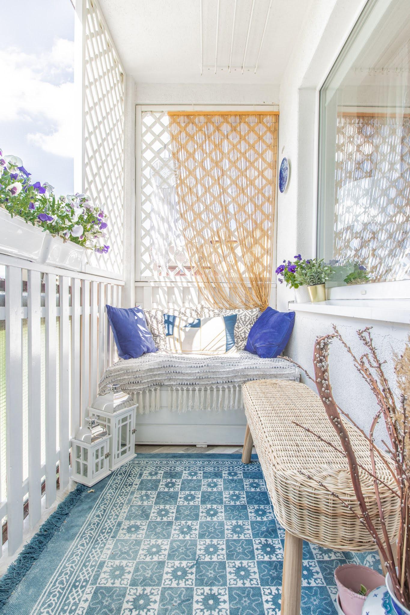 jak odmienić mieszkanie na wiosnę - balkon