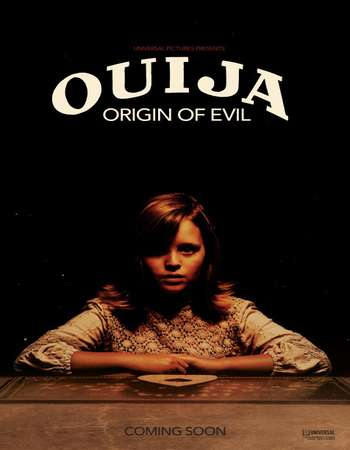 Poster Of Ouija Origin of Evil 2016 English 700MB HDCAM x264 Free Download Watch Online downloadhub.net