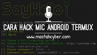 Hack mic android