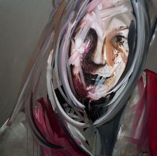 Французский художник. Franck Benoualid
