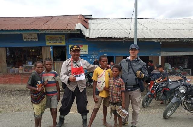 Jaga Situasi Kondusif, Polri Kedepankan Polmas melalui FKPM di Intan Jaya Papua