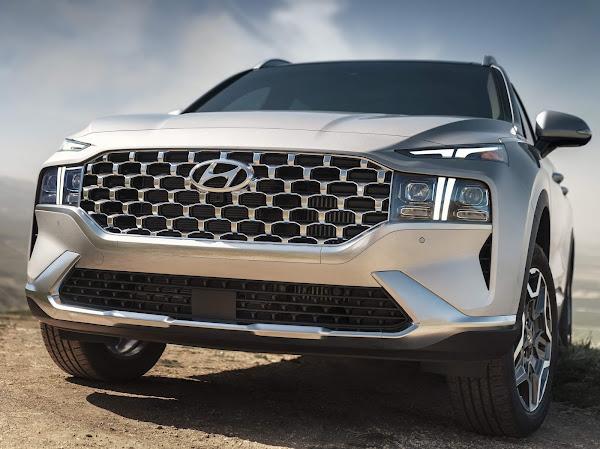 Novo Hyundai Santa Fé 2022