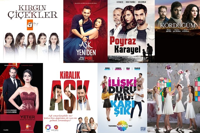 Kış Sezonu İzlediğim Türk Dizileri (2016)