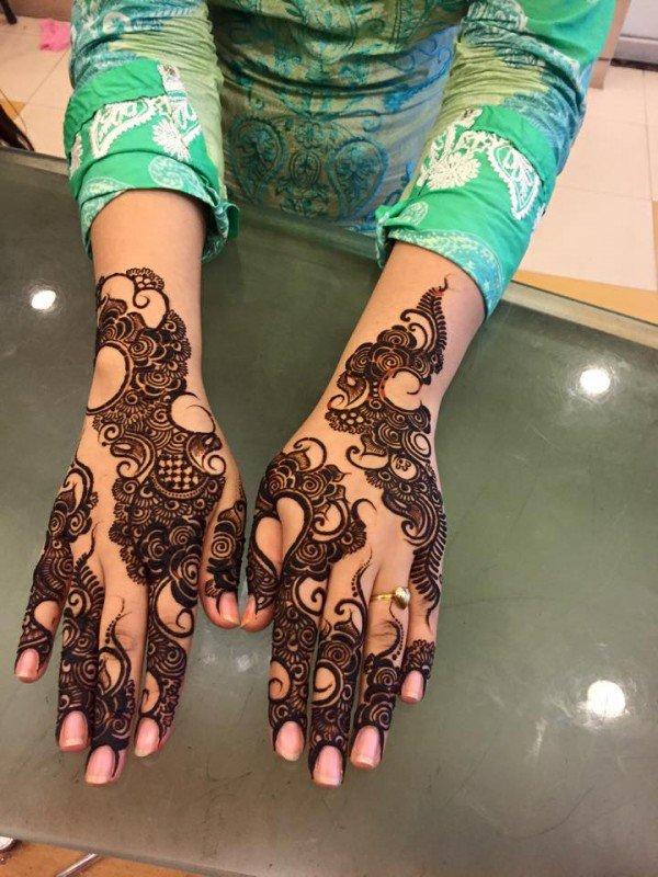 Stylish Unique Mehndi Designs: Stylish And Cute Mehndi Designs 2016