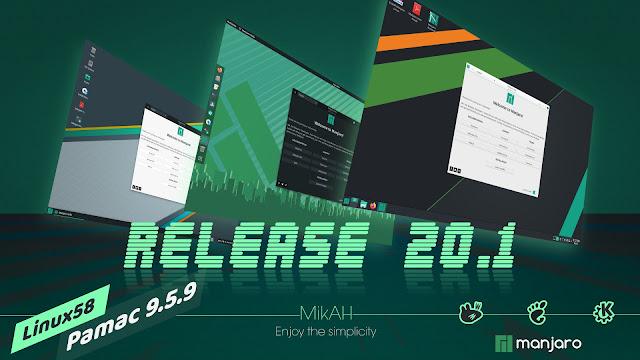 Manjaro 20.1 Mikah, DIsponible con Linux 5.8 y más