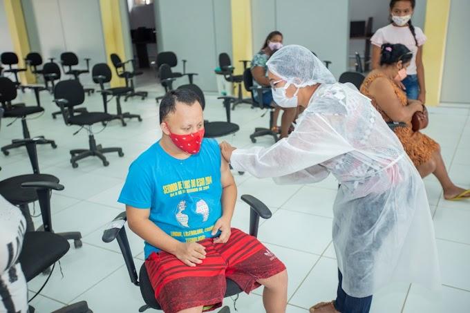 Vacina: Portadores de Síndrome de Down começam a ser vacinados em Matões
