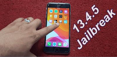 iOS 13.4.5 Jailbreak Apple Device 2020 April Security.