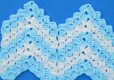 5 - Crochet Imagen Puntada zig zag a crochet en relieve Majovel Crochet
