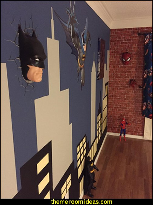 DC Comics Batman Mask 3D Deco Light   Superheroes bedroom ideas - batman - spiderman - superman decor - Captain America - comic book bedding - batmobile bed - Wonder Woman Girls superhero - marvel wall art Avengers - superman bedding - primary color bedroom ideas - spiderman room decor - decorating with comics - Batman furniture - Wonder Woman furniture - Avengers bedroom furniture