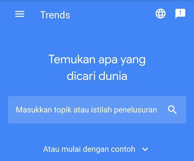 Google trends Tool Riset Keyword Terbaik Gratis