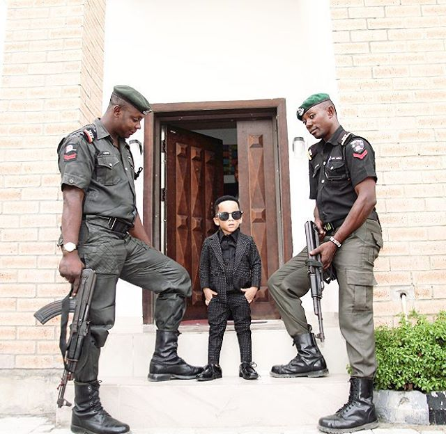 Celebrity Stylist, Toyin Lawani's Son