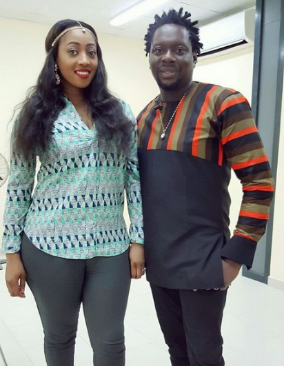 See Beautiful photo of Klint Da Drunk and his wife (Here)
