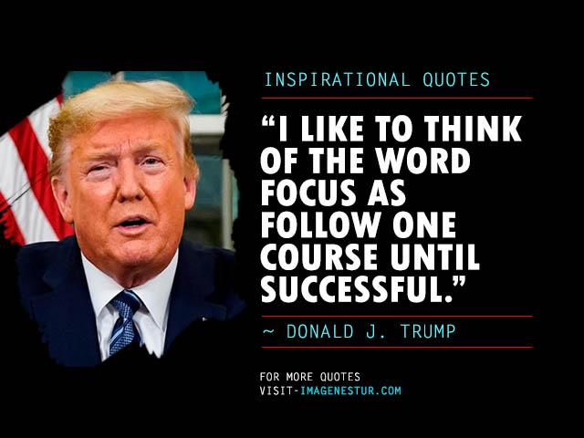 Donald Trump Quotes on Success (Inspirational)