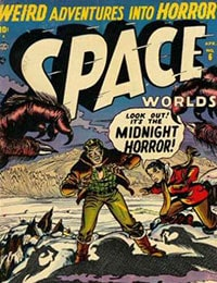 Space Worlds Comic