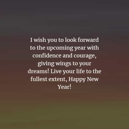 Happy New Year wishes and Happy New Year messages