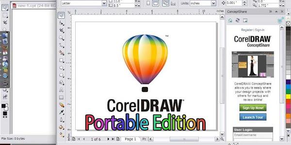 CorelDraw Portable X4 Free Download