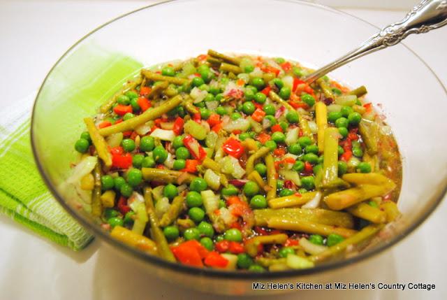Marinated Veggie Salad at Miz Helen's Country Cottage