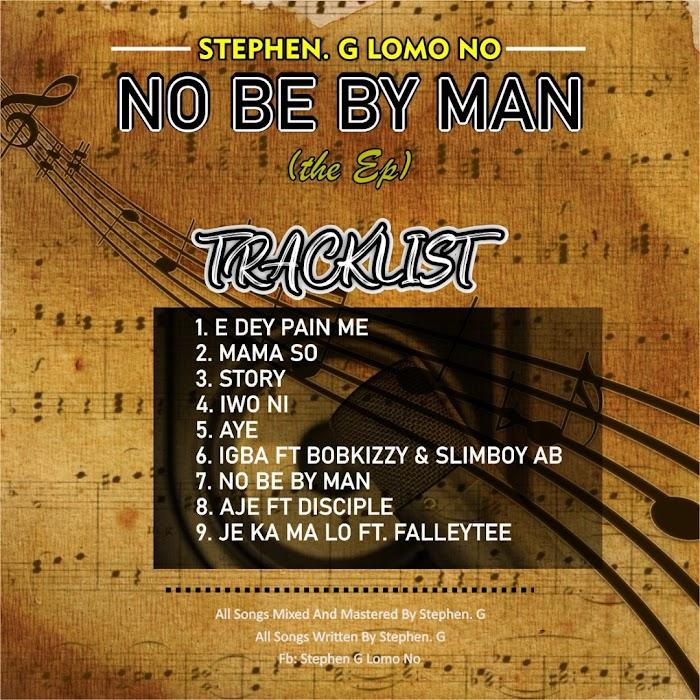 Stephen.G Lomo No – E Dy Pain Me