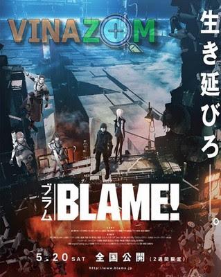 phim hoạt hình viễn tưởng - phim lẻ nhật bản blame