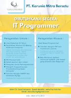 Lowongan Kerja Surabaya di PT. Karunia Mitra Bersatu Maret 2020