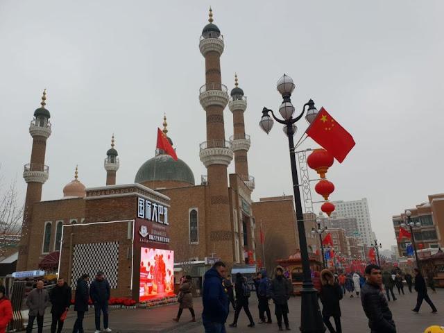 Masjid di Cina Xinjiang