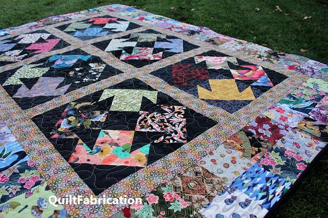 Kimono quilt closer
