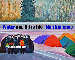Water and Oil is Life - Non Violence