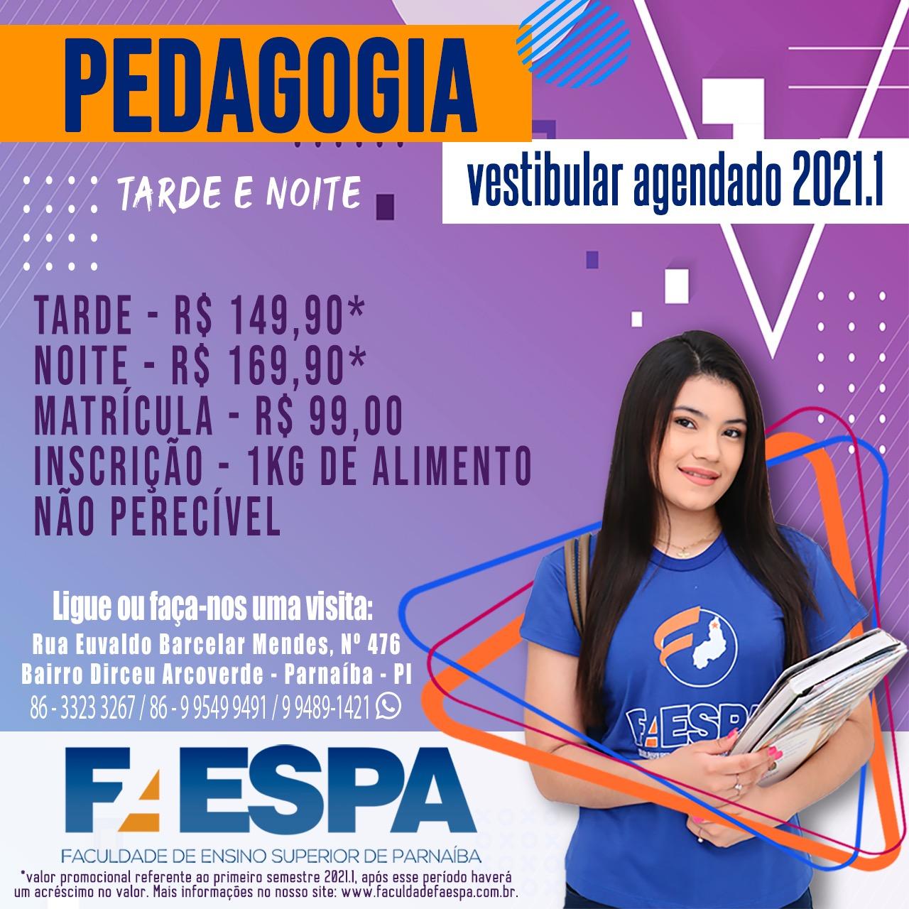 FAESPA - MATRICULAS ABERTAS