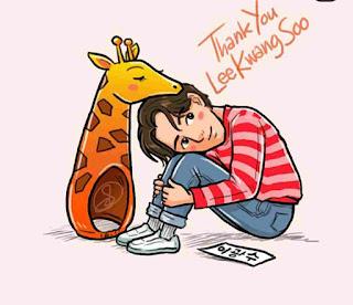 Terima kasih Lee Kwang Soo
