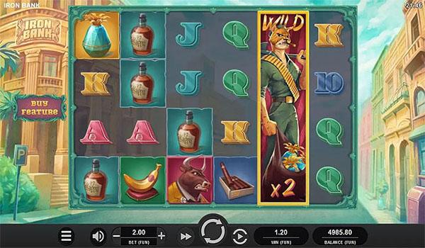 Main Gratis Slot Indonesia - Iron Bank Relax Gaming