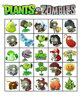 Plants vs. Zombies party games