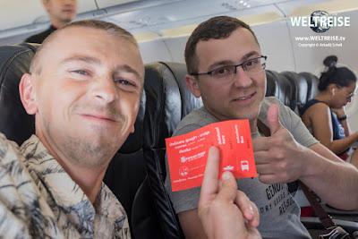 WORLD TRAVEL from Bangkok to Ko Samui in Thailand. Arkadij und Roman aus Bremerhaven